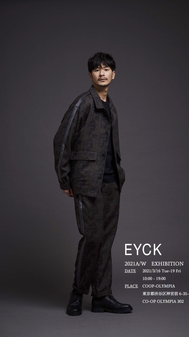 EYCK 2021AW EXHIBITION1